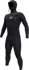 Men's Alder Evo Hooded 6mm Winter Wetsuit